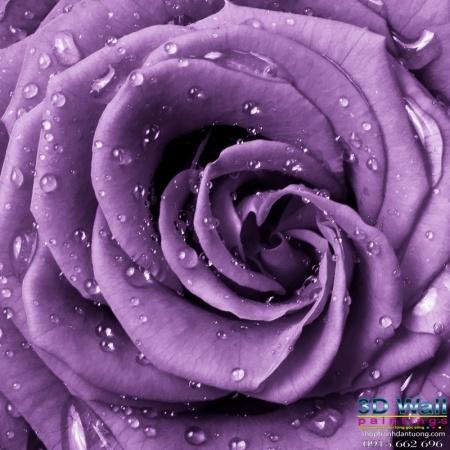 Tranh dán tường hoa lá DHL2069