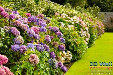 Tranh dán tường hoa lá DHL2081
