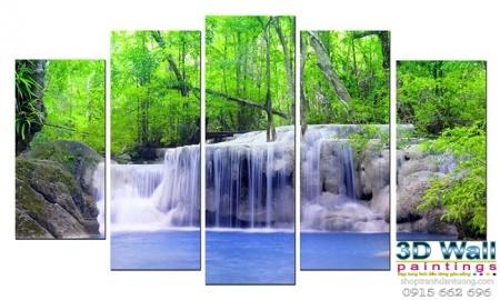 Tranh treo tường năm tấm TTN082
